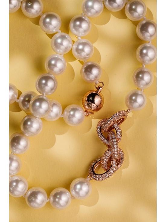 Colier Charlotte cu accesoriu auriu #4