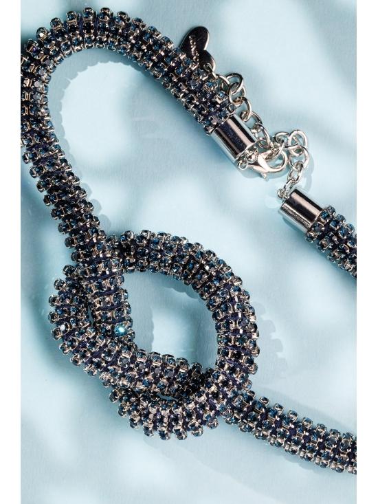 Colier Diana argintiu #4