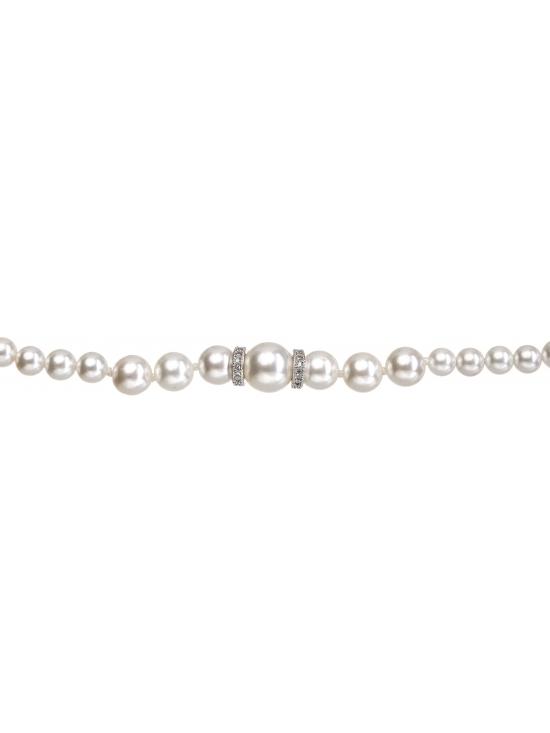 Colier Leonor cu accesoriu argintiu #2