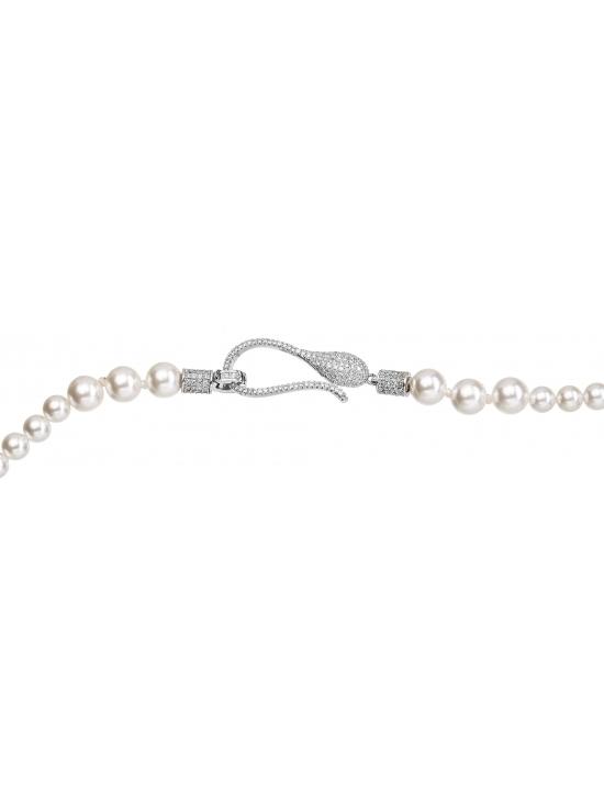Colier Leonor cu accesoriu argintiu #3