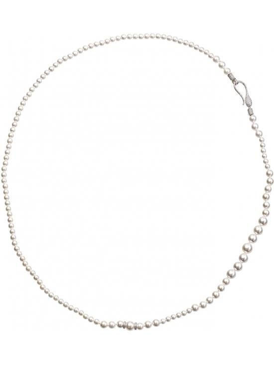 Colier Leonor cu accesoriu argintiu