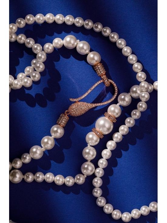 Colier Leonor cu accesoriu auriu #5