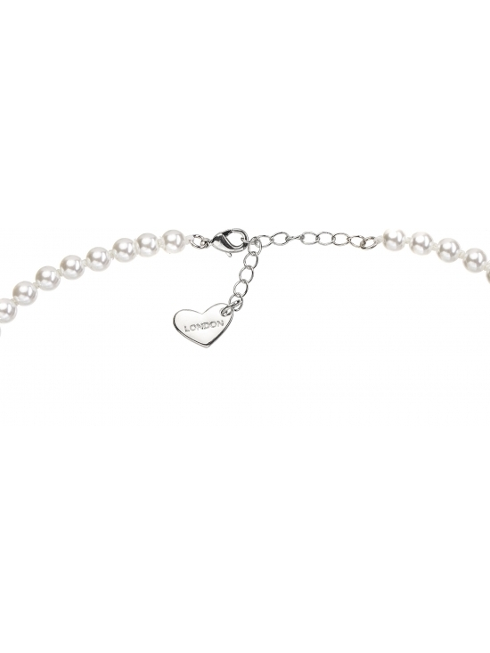 Colier Celestia cu accesoriu argintiu #3