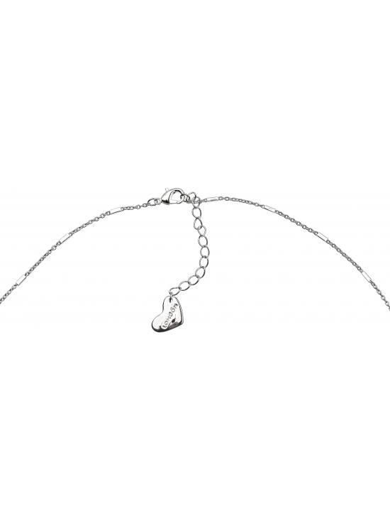 Colier Carolyn cu accesoriu argintiu #3