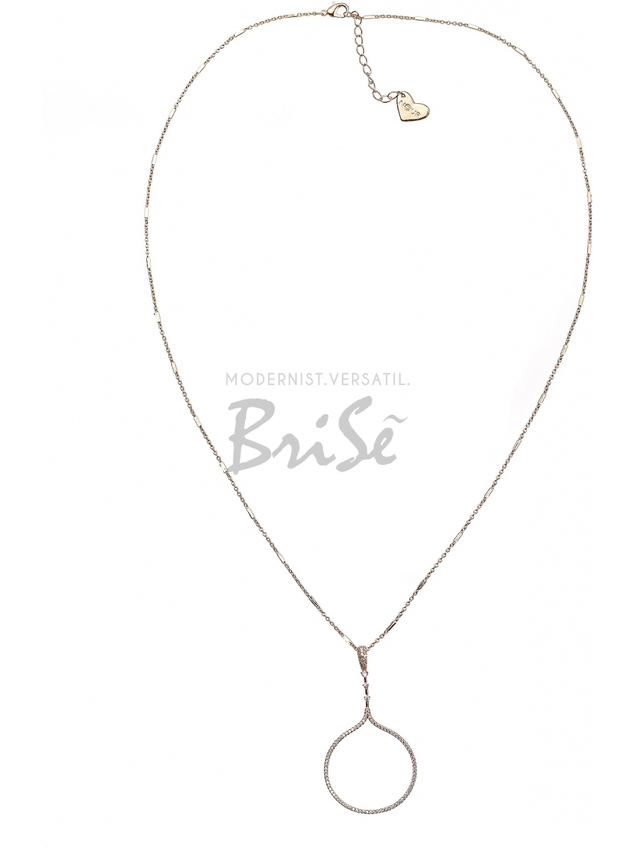 Colier Carolyn cu accesoriu auriu