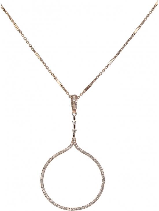 Colier Carolyn cu accesoriu auriu #2