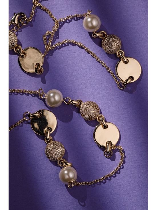 Colier Kate cu accesoriu auriu #4