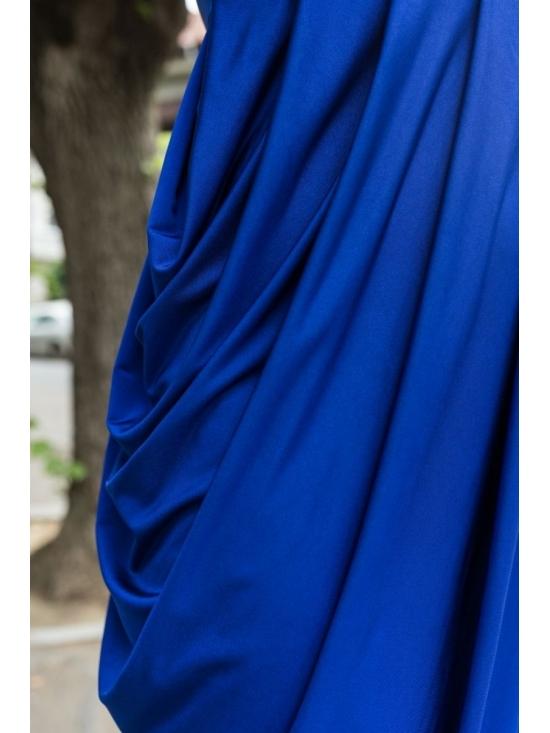 Rochie Annie midi albastra #4