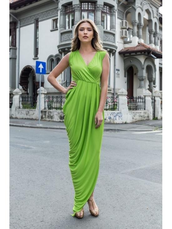 Rochie Annie maxi verde