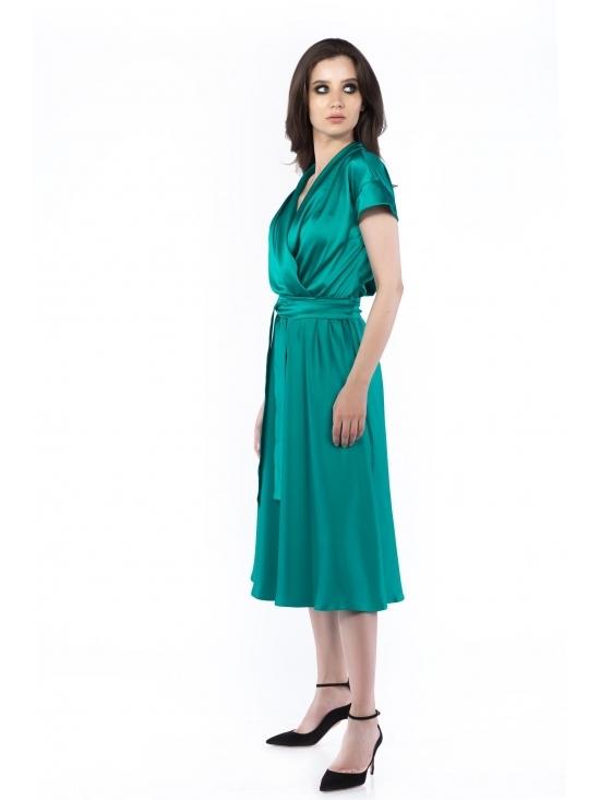 Rochie Brenda verde #2