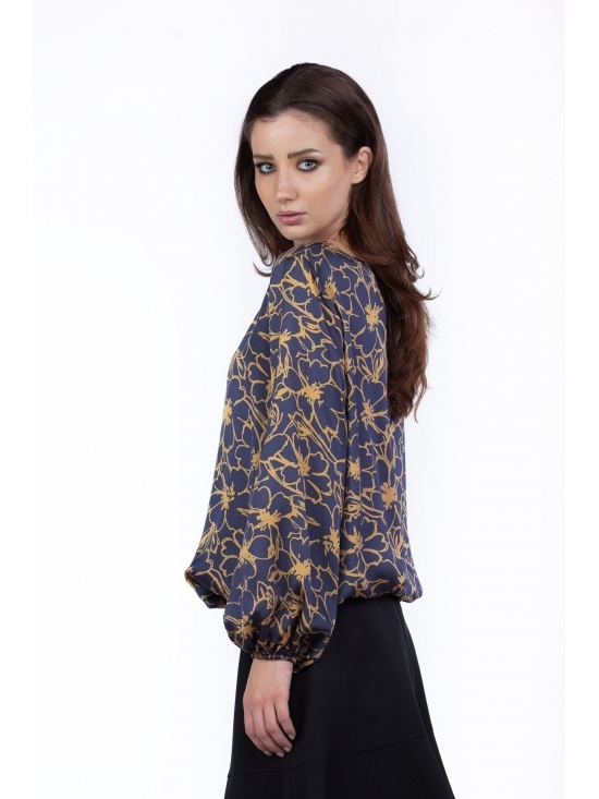 Bluza Natalia imprimata din vascoza 100% #2