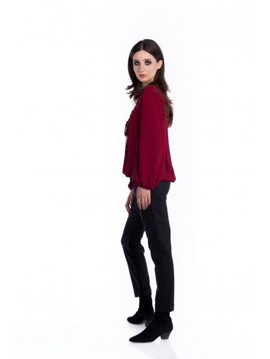 Bluza Carmen grena #2