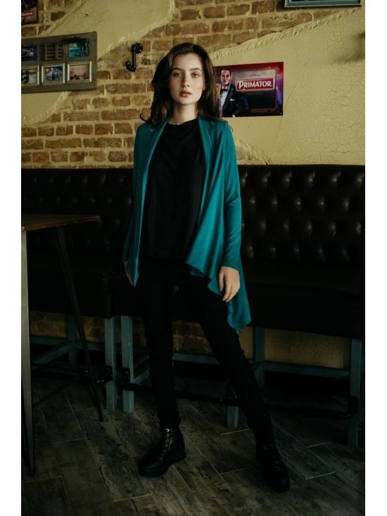 Pulover Karenina din vascoza tricotata #2