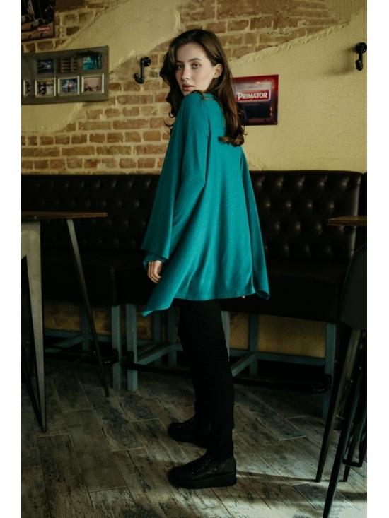 Pulover Karenina din vascoza tricotata #5