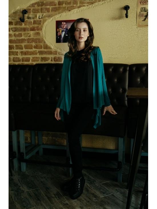 Pulover Karenina din vascoza tricotata #4