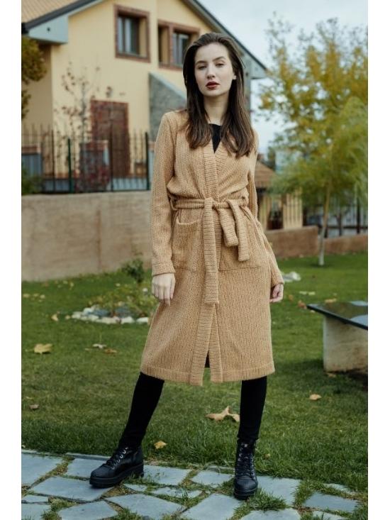 Pulover Amelia caramel #3