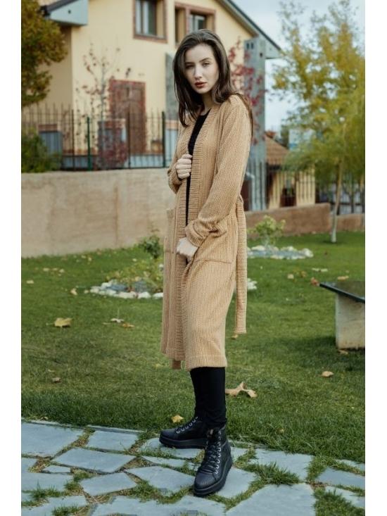 Pulover Amelia caramel #7