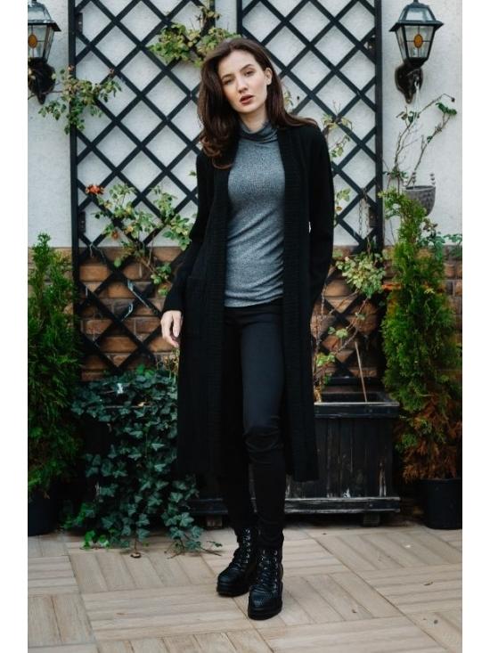 Pulover Amelia negru