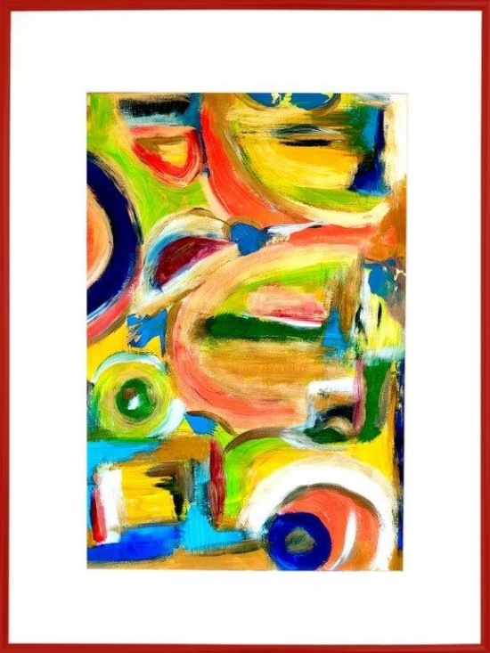 "Tablou ""Division of Self Control"" #11"