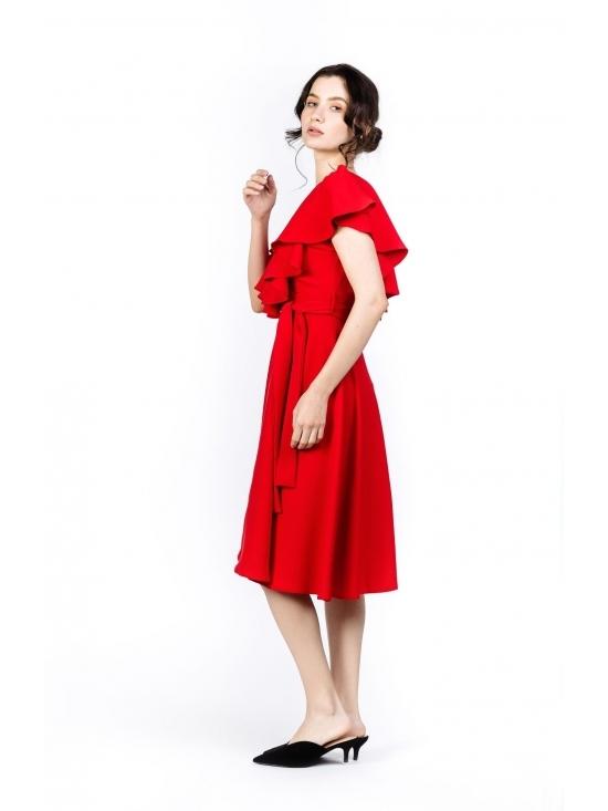 Rochie Arandis rosie #3