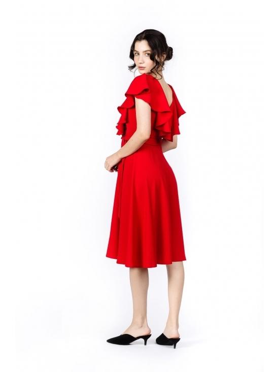 Rochie Arandis rosie #4