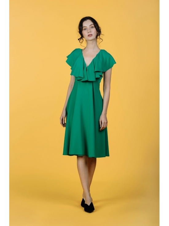 Rochie Arandis verde #4