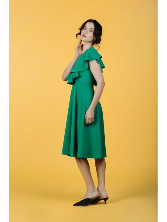 Rochie Arandis verde #6