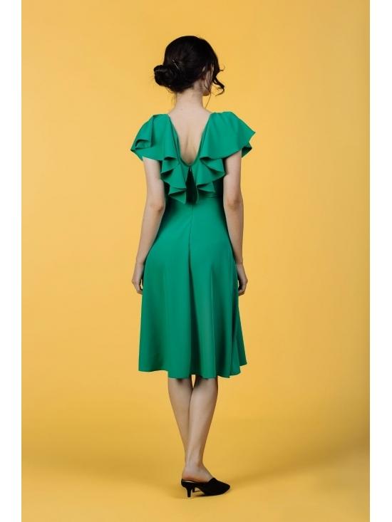 Rochie Arandis verde #7