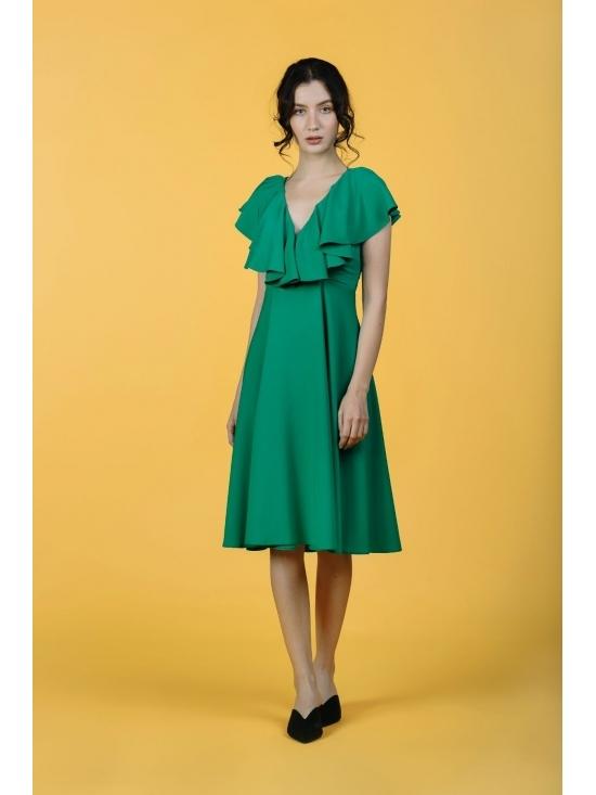 Rochie Arandis verde