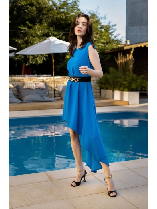 Rochie Summer Fling albastru electric #3
