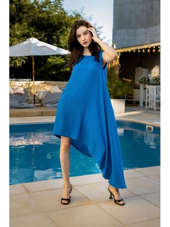 Rochie Summer Fling albastru electric #4