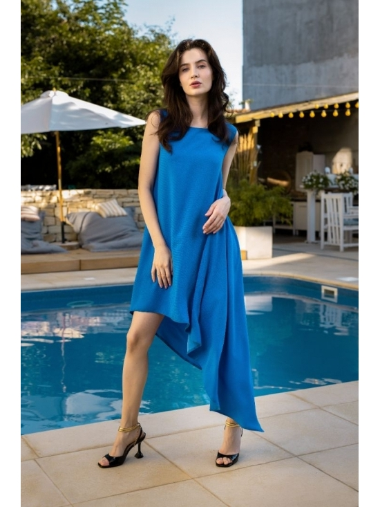 Rochie Summer Fling albastru electric #5