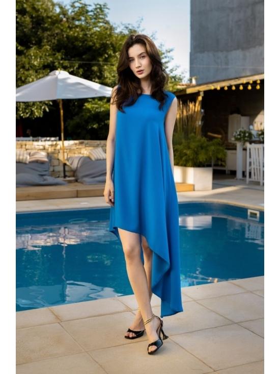 Rochie Summer Fling albastru electric #6
