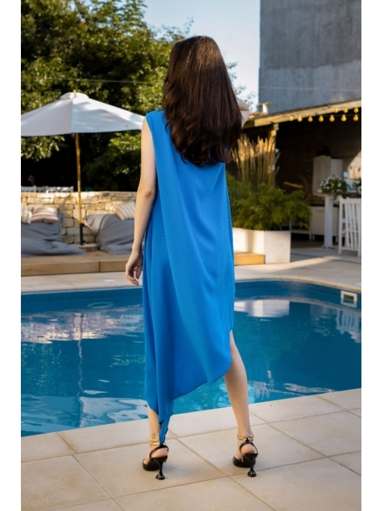 Rochie Summer Fling albastru electric #10