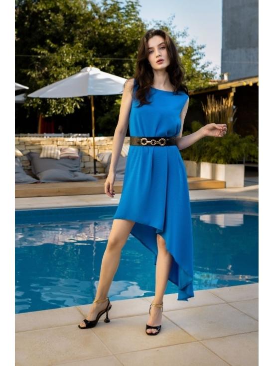 Rochie Summer Fling albastru electric